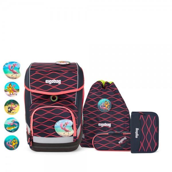 ergobag - Lumi Edition Cubo Set in mehrfarbig