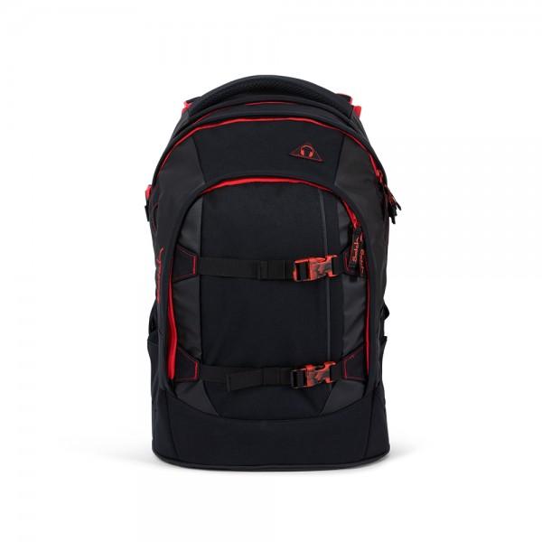 satch - pack Schulrucksack Fire Phantom in schwarz