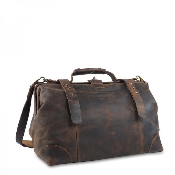 Greenland - Doc Bag XL mit Gurt 2509 in braun