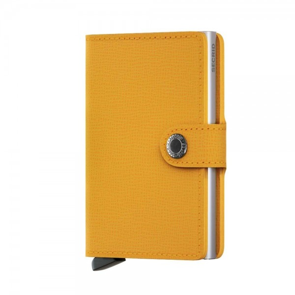 SECRID - Miniwallet Crisple in gelb