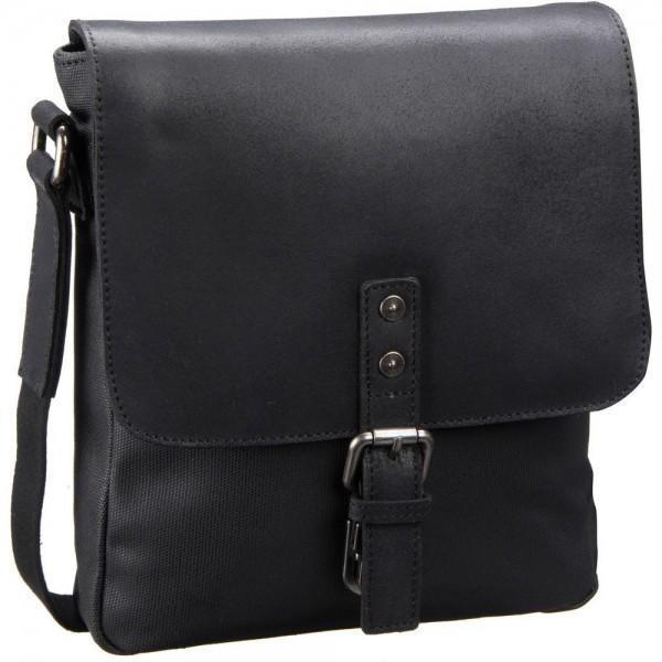 Leonhard Heyden - Newport Small Shoulder Bag 4700 in schwarz