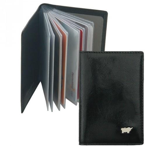 Braun Büffel - Kreditkartenetui 34001-004 in schwarz