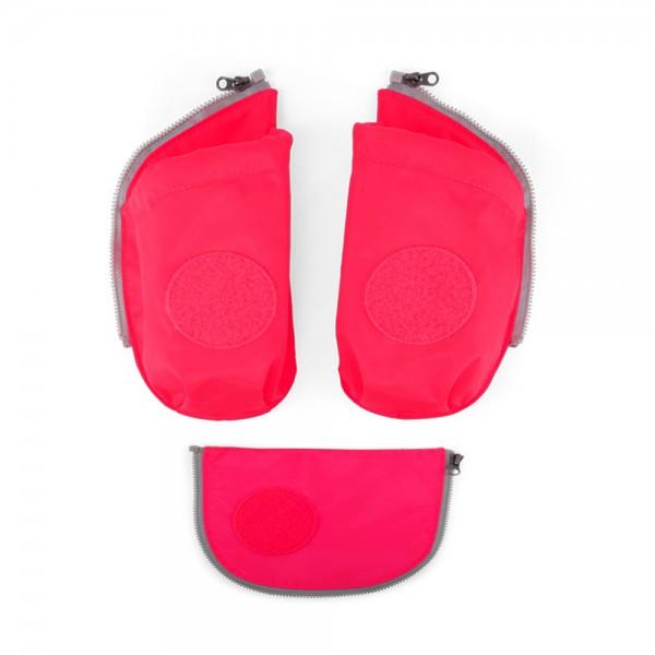 Zugabe Seitentaschen Zip-Set pink Pink