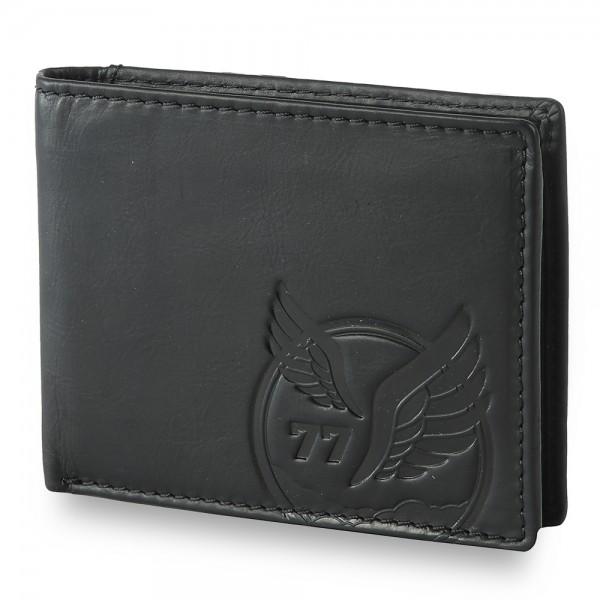 camel active - Jeans Börse, RFID Schutz 277702 in schwarz