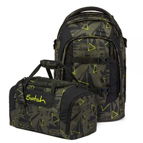 Set aus pack + Sporttasche