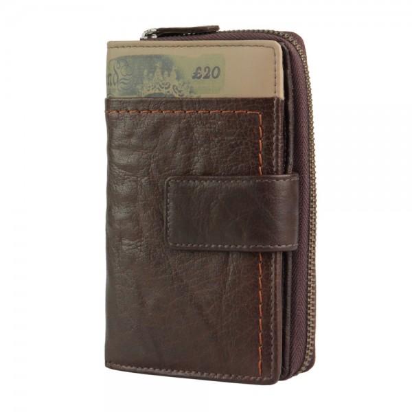 Branco - Pull Up Geldbörse 18373 in braun