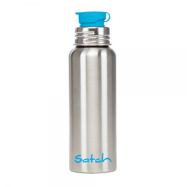 satch - Edelstahl Trinkflasche in silber