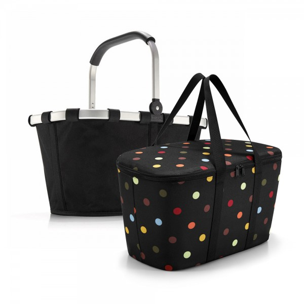 reisenthel - Set aus carrybag BK + coolerbag UH BKUH in schwarz