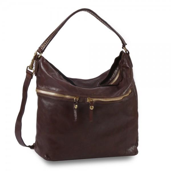 Campomaggi - Eugenia Shoulder Bag Large C026460ND-X0007 in braun