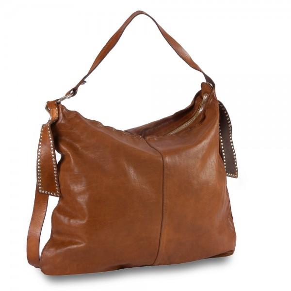 Campomaggi - Iris Shoulder Bag large C025690ND-X0007 in braun