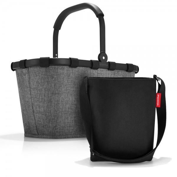 reisenthel - Set aus Carrybag und Shoulderbag BKHY in silber