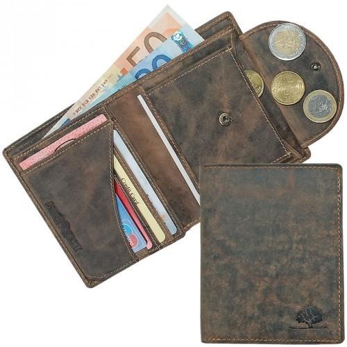Green Burry - Geldbörse 1701 in braun