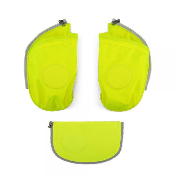 Zugabe Seitentaschen Zip-Set gelb Gelb