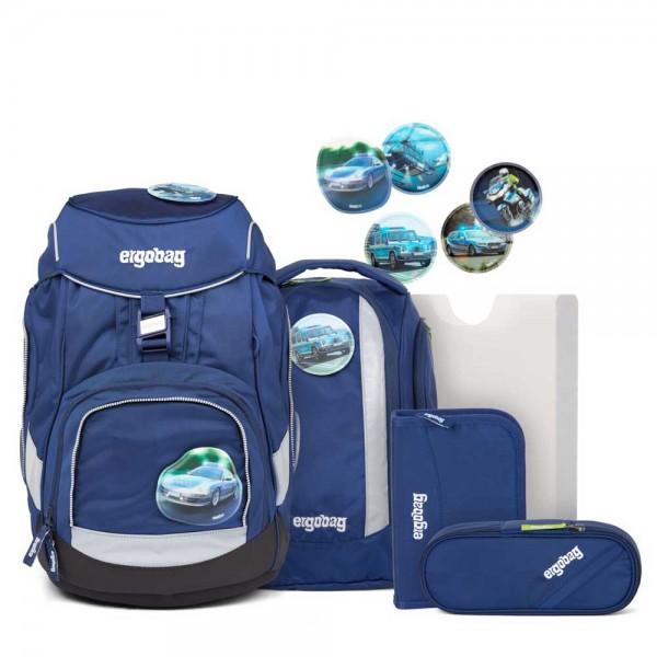 Pack Schulranzen SET 6tlg BlaulichtBär