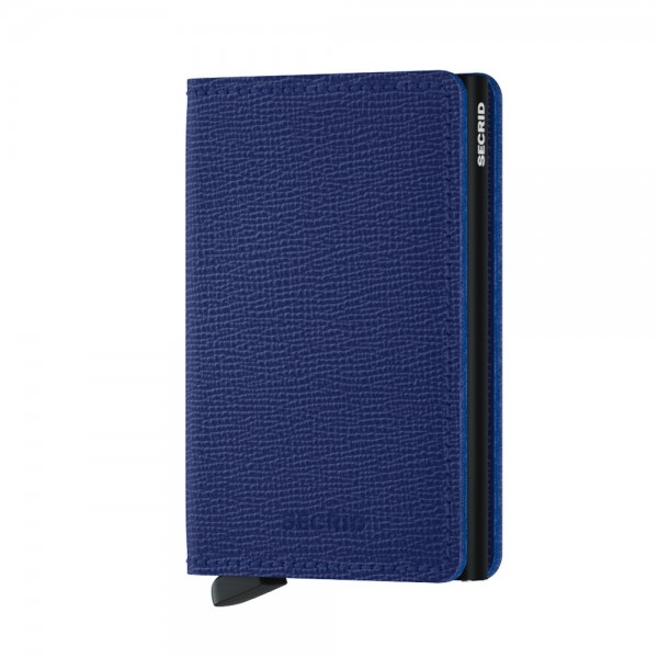 SECRID - Slimwallet Crisple in blau
